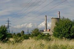 Thermoelectric power plant Sofia Iztok Stock Images