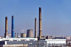 Thermoelektrische Heizung Stockfotografie