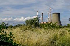 Thermoelektrisches Kraftwerk Sofia Iztok Lizenzfreie Stockfotografie