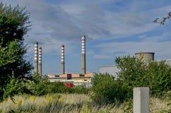 Thermoelektrisches Kraftwerk Sofia Iztok Lizenzfreie Stockbilder