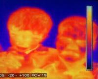 Thermografie Royalty-vrije Stock Afbeeldingen