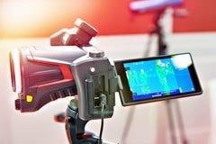 Thermographic камера стоковые фотографии rf