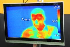 Free Thermographic Camera Monitoring Pandemic Covid-19 Of Coronavirus Sars-CoV-2 Stock Photo - 171930370