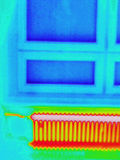 Thermographie d'intérieur photo libre de droits