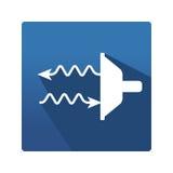 Thermography control icon Stock Photos