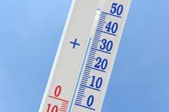 thermomètre Photo stock