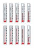 Thermomètre Images libres de droits