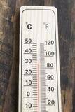 thermomètre photographie stock