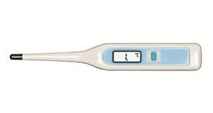 Thermomètre de Digitals photographie stock