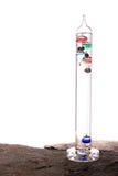 Thermomètre de Galilée d'isolement Photos libres de droits