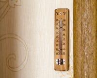 Thermomètre de pièce Photo stock