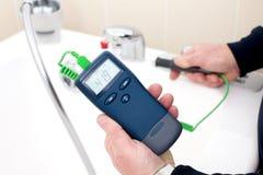thermomètre digital photographie stock libre de droits