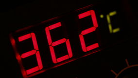 thermomètre digital banque de vidéos