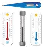 Thermomètres Photographie stock