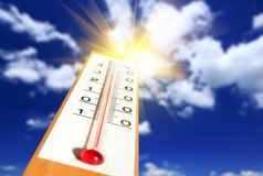 thermometer Stock Foto