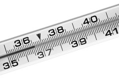 Thermometer Royalty-vrije Stock Foto's