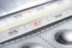 Thermometer royalty-vrije stock afbeeldingen