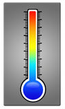 Thermometer. Ranging from ice cold to boiling hot