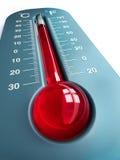 Thermometer royalty-vrije illustratie