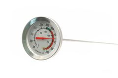 Thermometer. Showing 425 degrees Fahrenheit Stock Photo