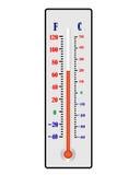 thermometer Lizenzfreie Stockfotografie