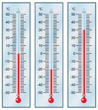 Thermometer. Stockfotografie