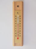 Thermometer for air temperature measurement Royalty Free Stock Images