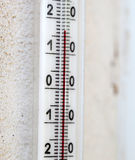 A thermometer Royalty Free Stock Photo