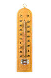 The Thermometer (Celsius and Fahrenheit). Royalty Free Stock Images