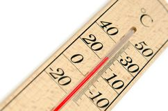 The Thermometer (Celsius). Stock Images