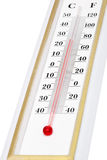 Thermometer close-up Stock Images