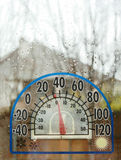 Thermometer Cold Temperature Stock Photo