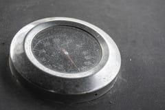 Thermometer des Grills stockbild