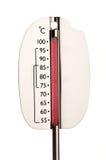 Thermometer die 100 degres toont Royalty-vrije Stock Afbeeldingen