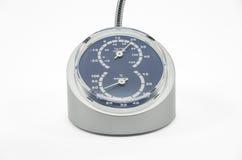 Thermometer en hygrometer stock afbeeldingen