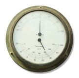 Thermometer and Hygrometer device Stock Image