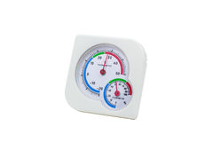 Thermometer And Hygrometer Stock Image