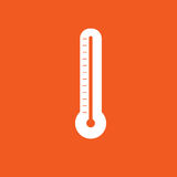 Thermometer icon simple vector illustration Royalty Free Stock Photo