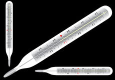 Thermometer icons Royalty Free Stock Photos