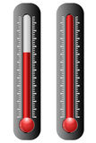 Thermometer icons Royalty Free Stock Photo