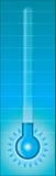Thermometer - Kälte Lizenzfreies Stockfoto