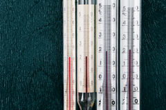 Thermometer for measuring the room temperature Royalty Free Stock Image
