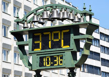 Thermometer outdoor Royalty Free Stock Image