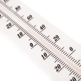 Thermometer scale closeup Royalty Free Stock Photo