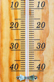Thermometer scale. Royalty Free Stock Photos