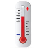 Thermometer Vector Royalty Free Stock Photo