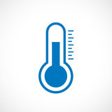 Thermometer vector icon Stock Photography