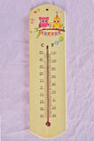 Thermometer for weather temperature measure Royalty Free Stock Photos