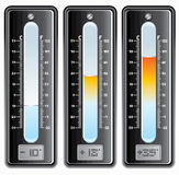 Thermometers Stock Afbeelding