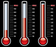 Thermometers Stock Photo